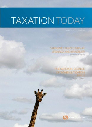 Taxation Today -Thomson Reuters NZ
